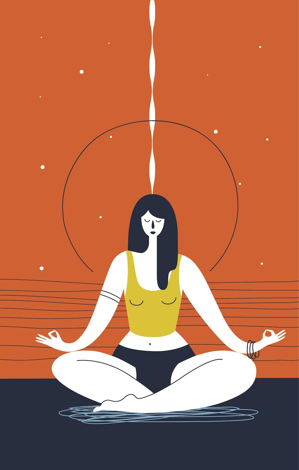 trataka yogic gazing
