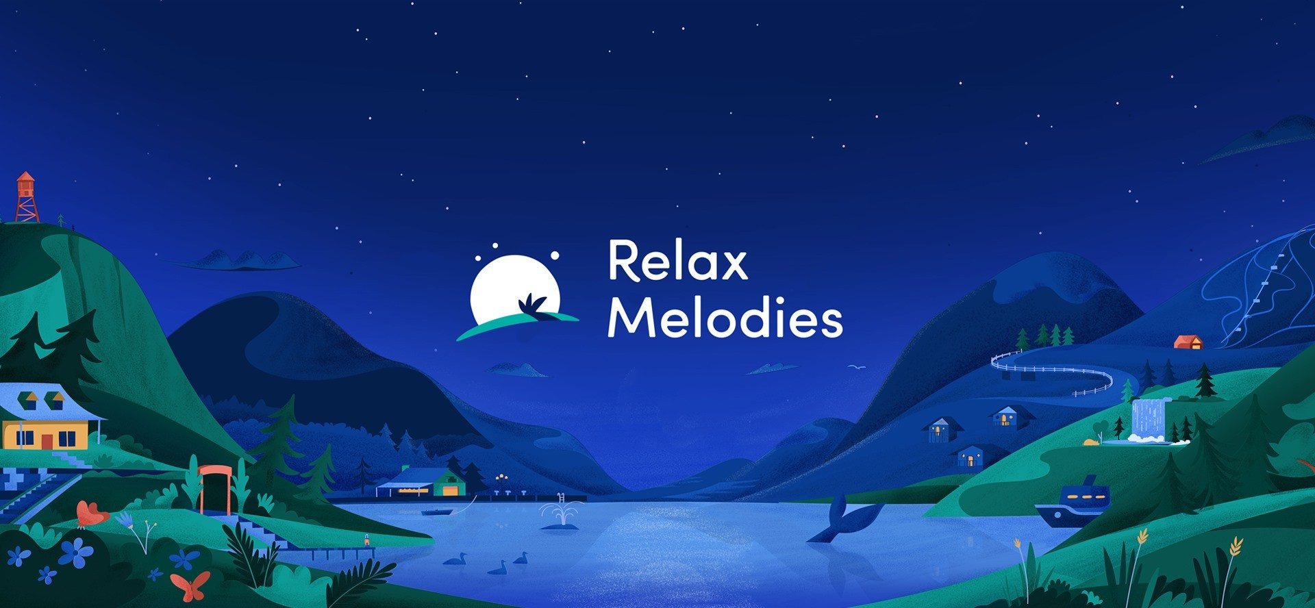 Relax Melodies Banner